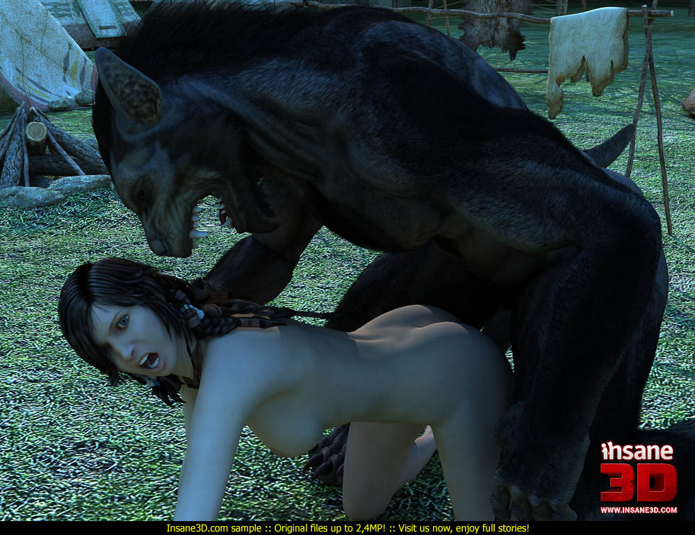 Can Werewolf sex story are not
